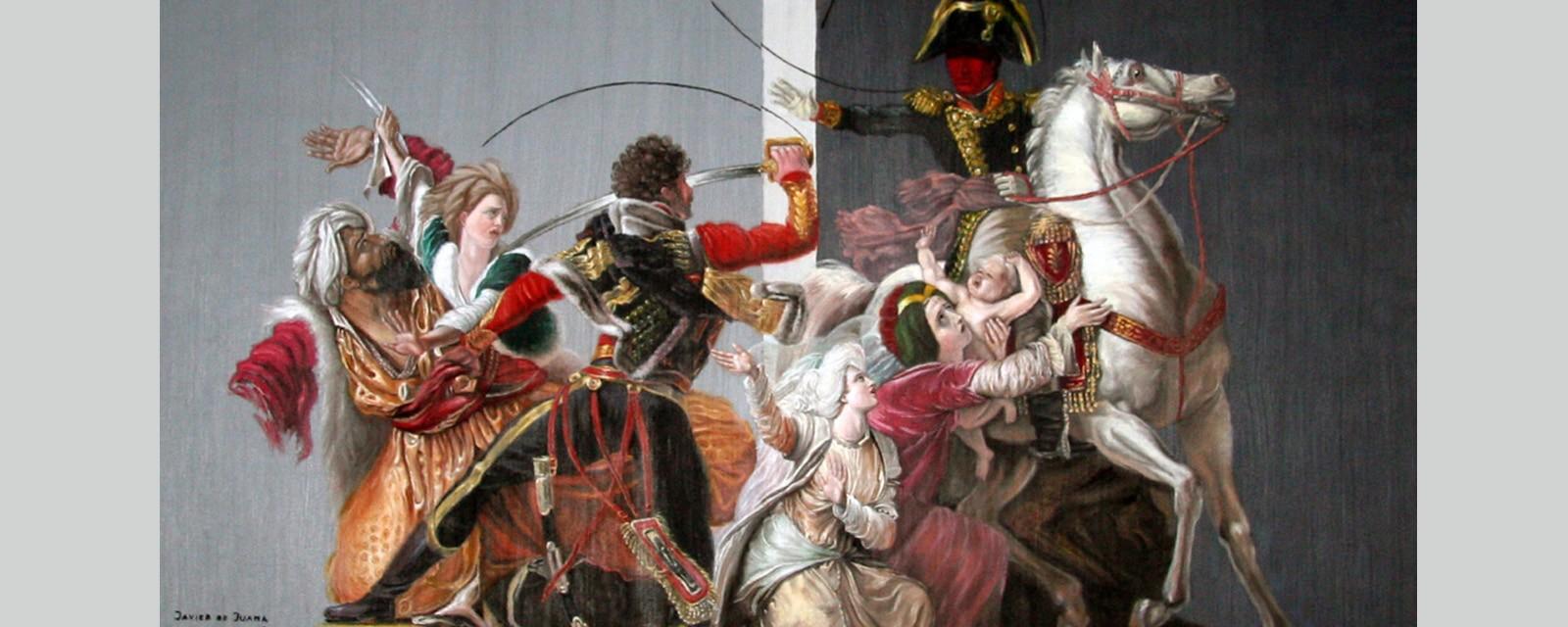 Javier de Juana - Cuadro Señor de la Guerra