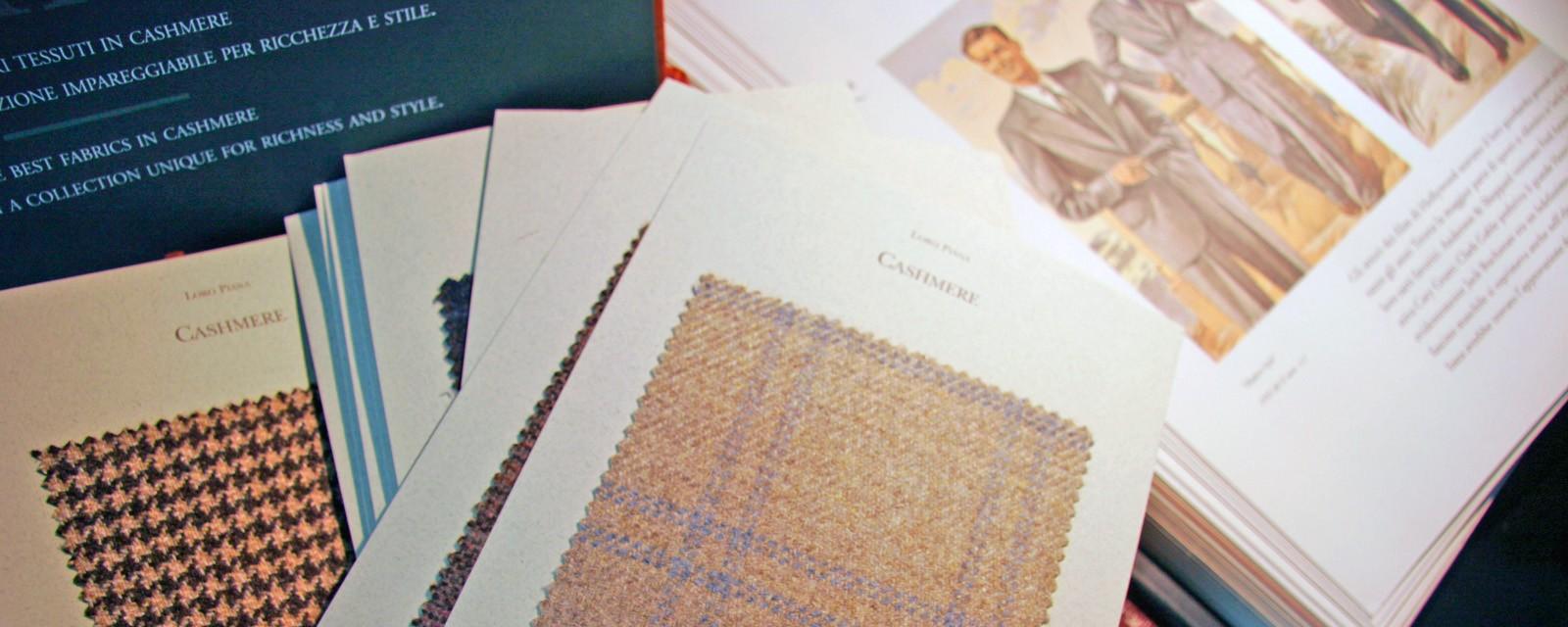 Javier de Juana - Primeras marcas de tejidos Ingleses e Italianos