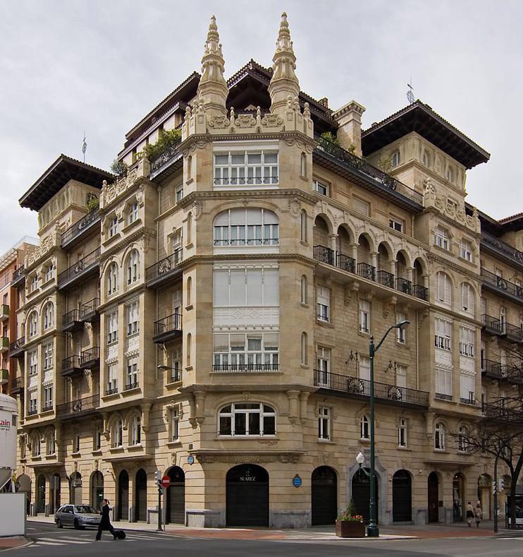 Javier de Juana - Nueva sastrería en Edificio Sota Bilbao Gran Vía